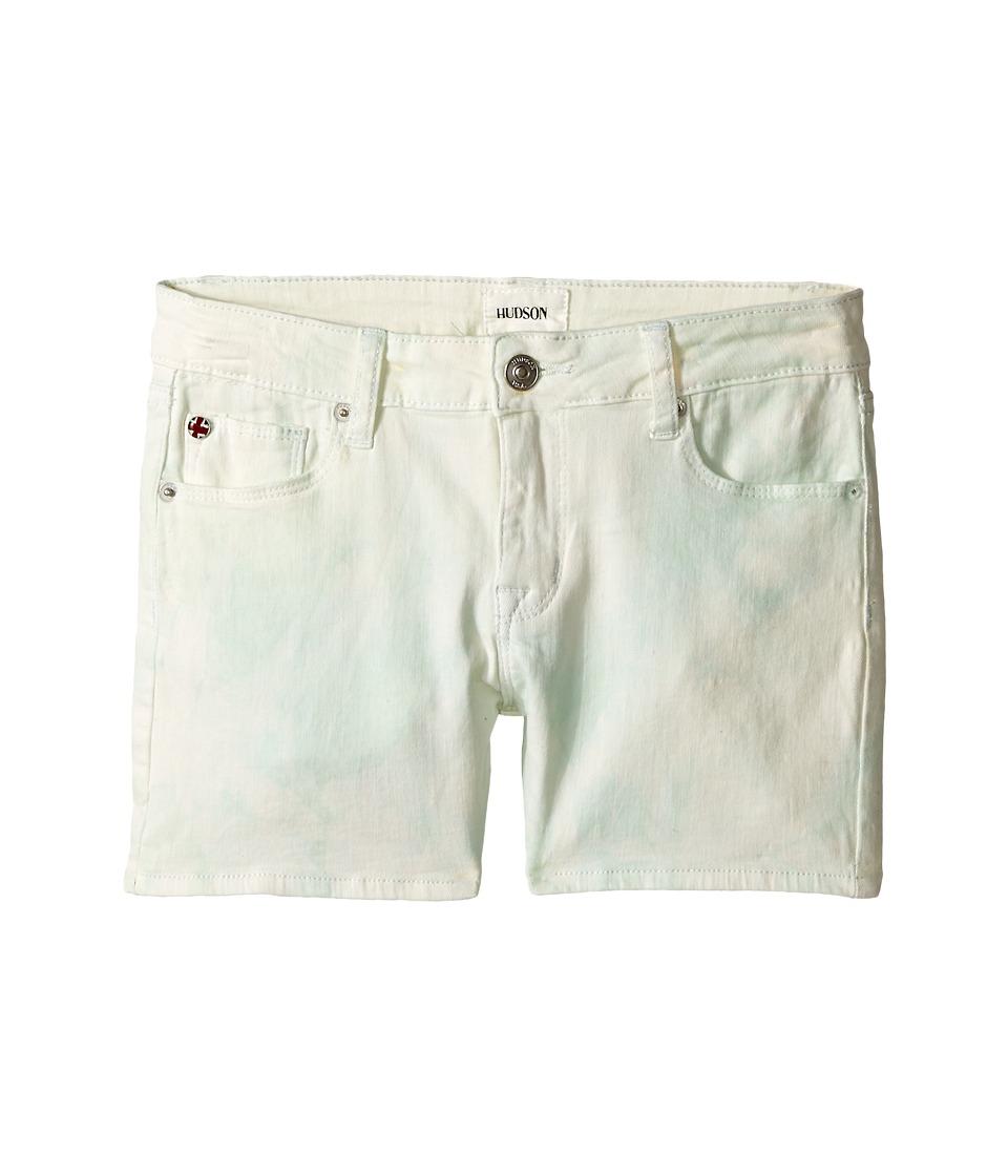 Hudson Kids Bali Shorts in Mint Big Kids Mint Girls Shorts