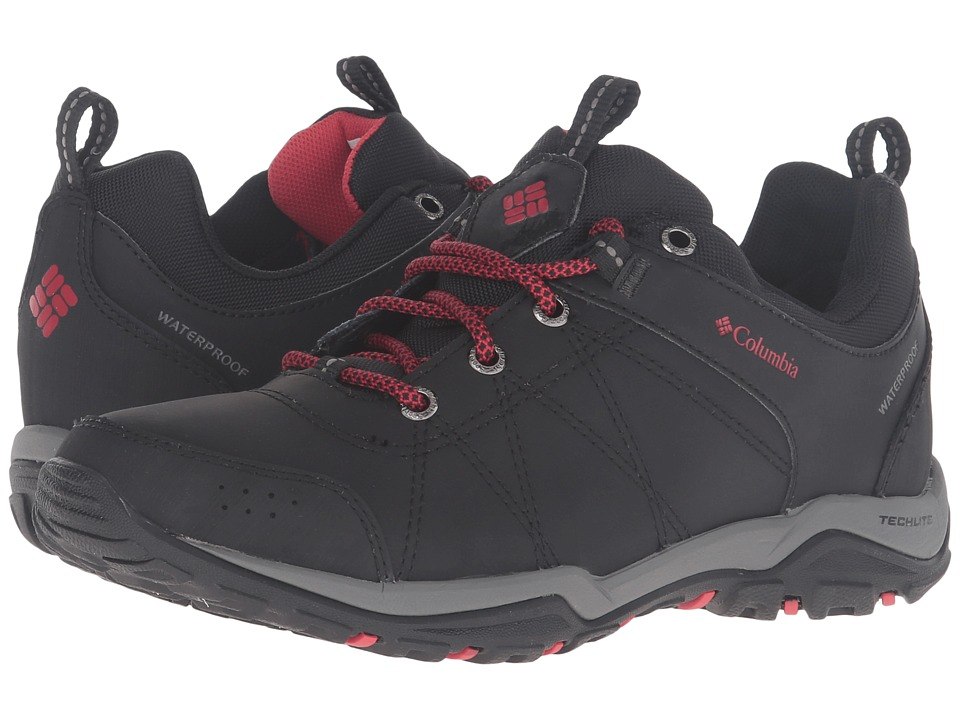 Columbia - Fire Venture Waterproof (Black/Burnt Henna) Women