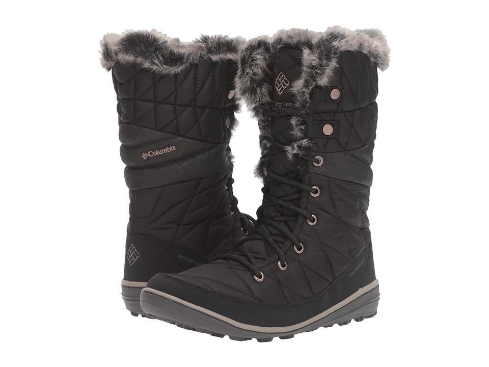 Columbia Heavenly Omni-Heat (Black/Kettle) Women's Shoes