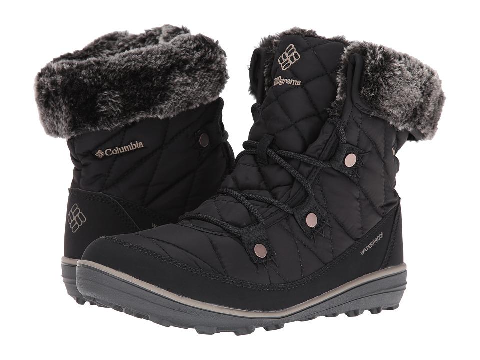 Columbia Heavenly Shorty Omni-Heat (Black/Kettle) Women's Shoes