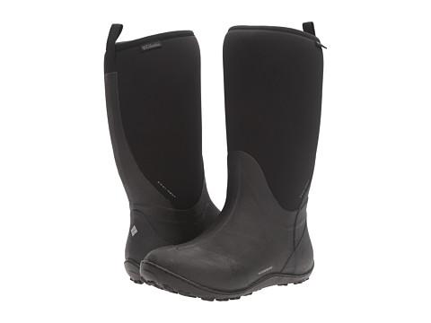 Columbia Snowpow Tall Omni-Heat - Black/Light Grey