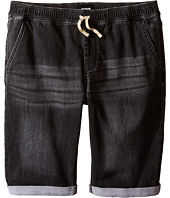 Hudson Kids - Knit Denim Shorts in Graphite (Big Kids)