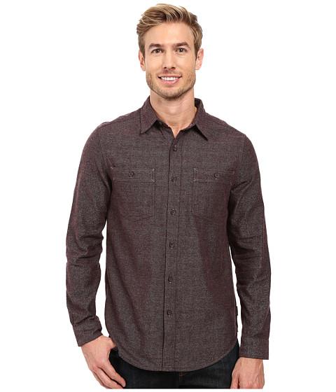 Royal Robbins Bristol Tweed Long Sleeve Shirt - Petrified Oak