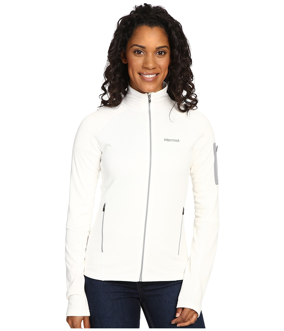 Marmot Stretch Fleece Jacket (Soft White) Women