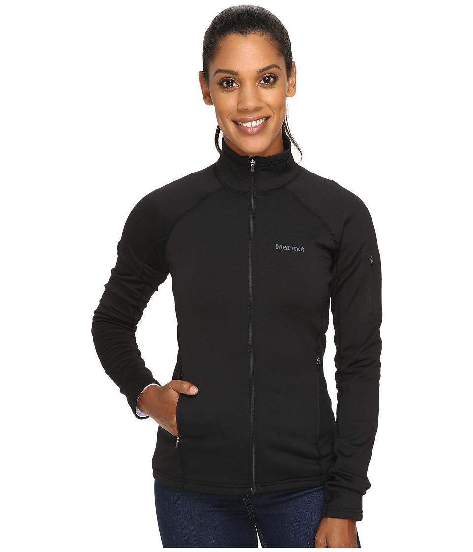 Marmot - Stretch Fleece Jacket (Black) Womens Jacket