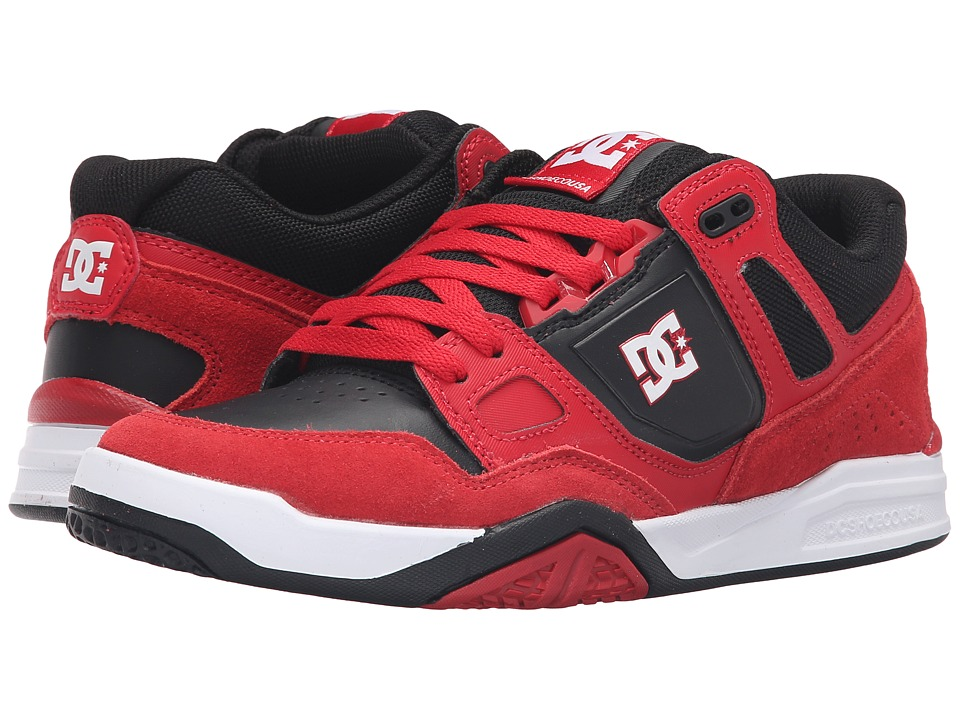 DC - Stag 2 (Red/Black) Mens Skate Shoes