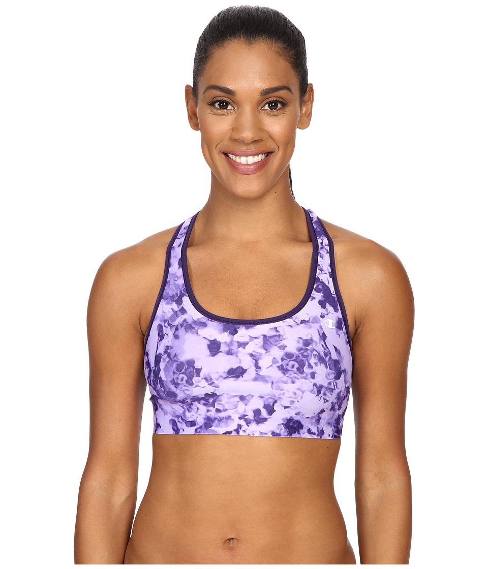 Champion Absolute Bra Mystic Purple Algae Puff/Mystic Purple Womens Bra