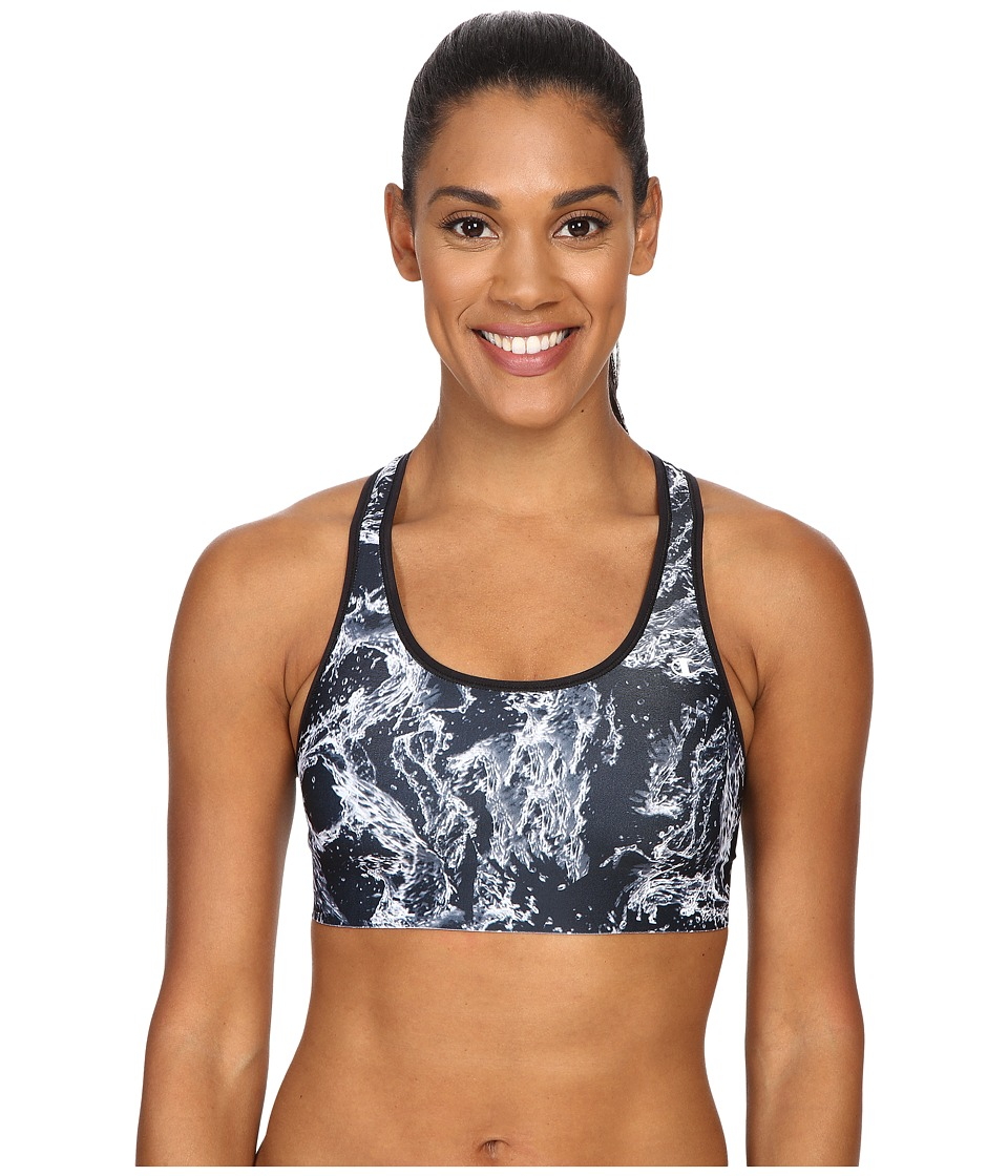 Champion Absolute Bra Black Splish Splash/Black Womens Bra