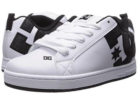 DC Court Graffik SE - White/Grey/Black