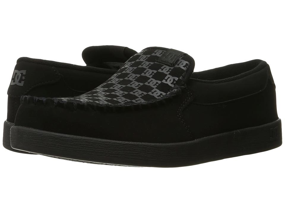 DC - Villain (Black Print) Mens Skate Shoes