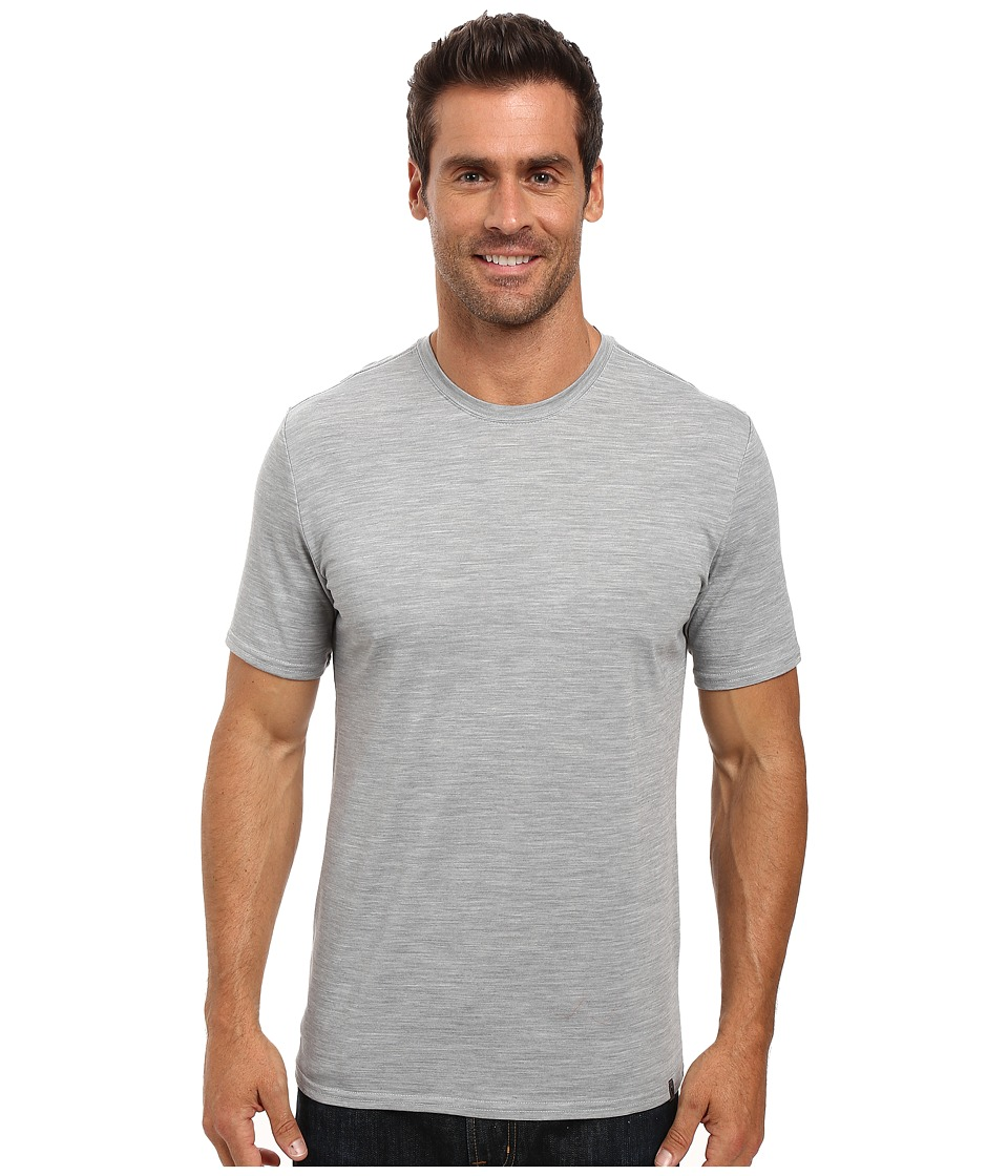 Royal Robbins Go Everywhere Tee (Light Pewter) Men
