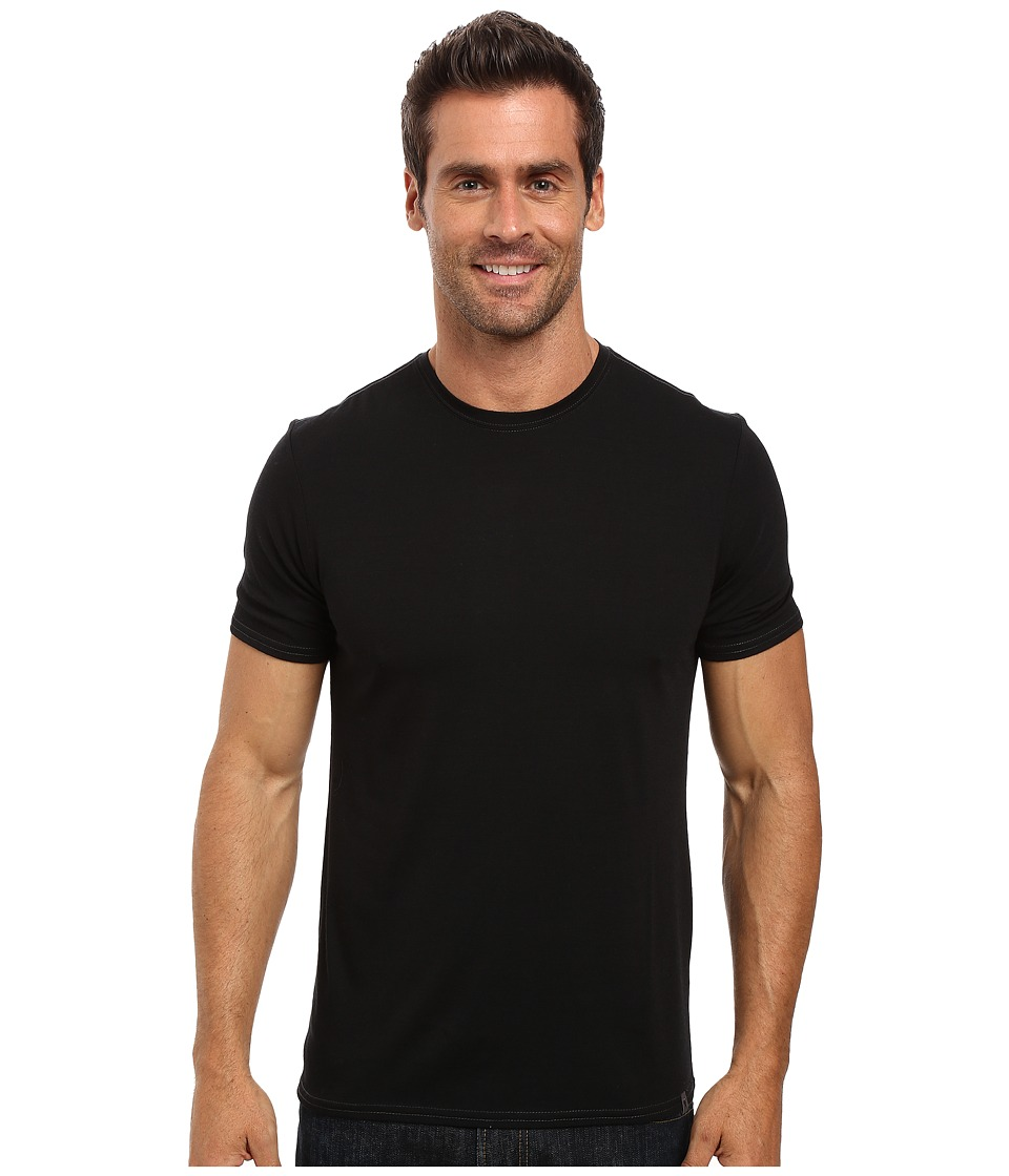 Royal Robbins Go Everywhere Tee (Jet Black) Men