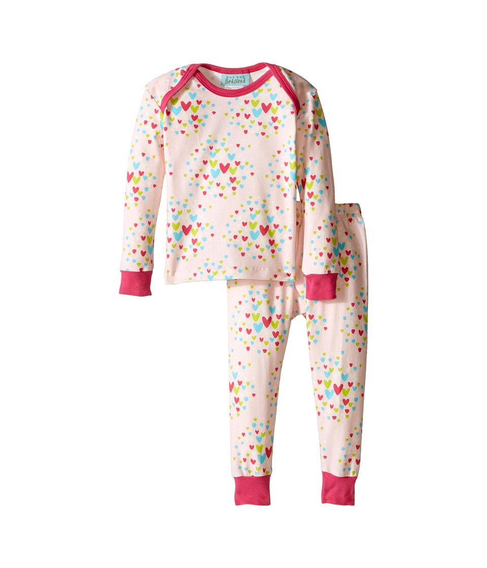 BedHead Kids L/S Tee Pant Infant Confetti Hearts Girls Pajama Sets