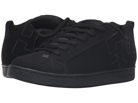 DC Court Graffik SE W - Black/Black/Black