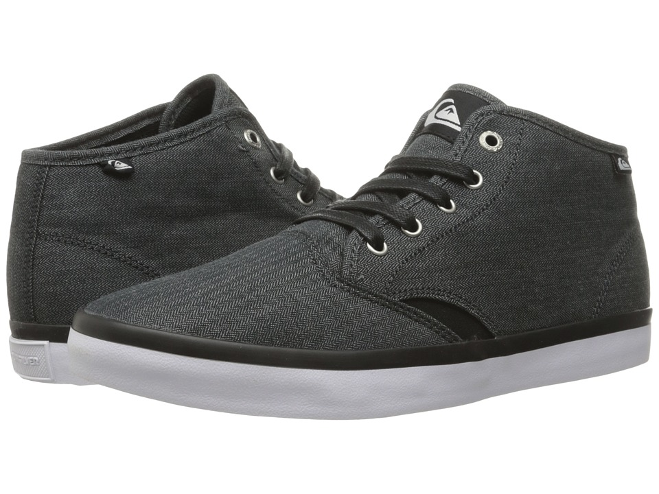 Quiksilver Shorebreak Mid (Black/Black/White) Men