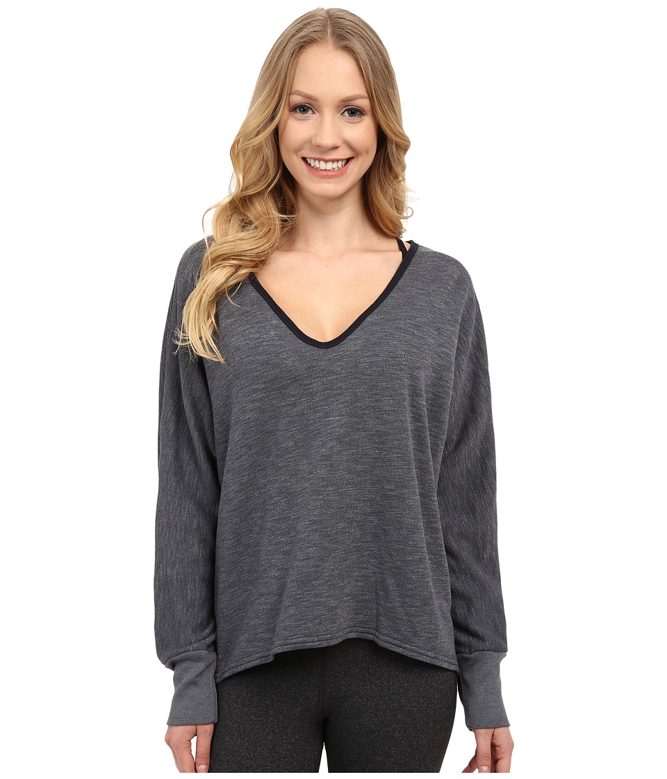 Hard Tail - Dolman Sleeve Pullover (Onyx) Women