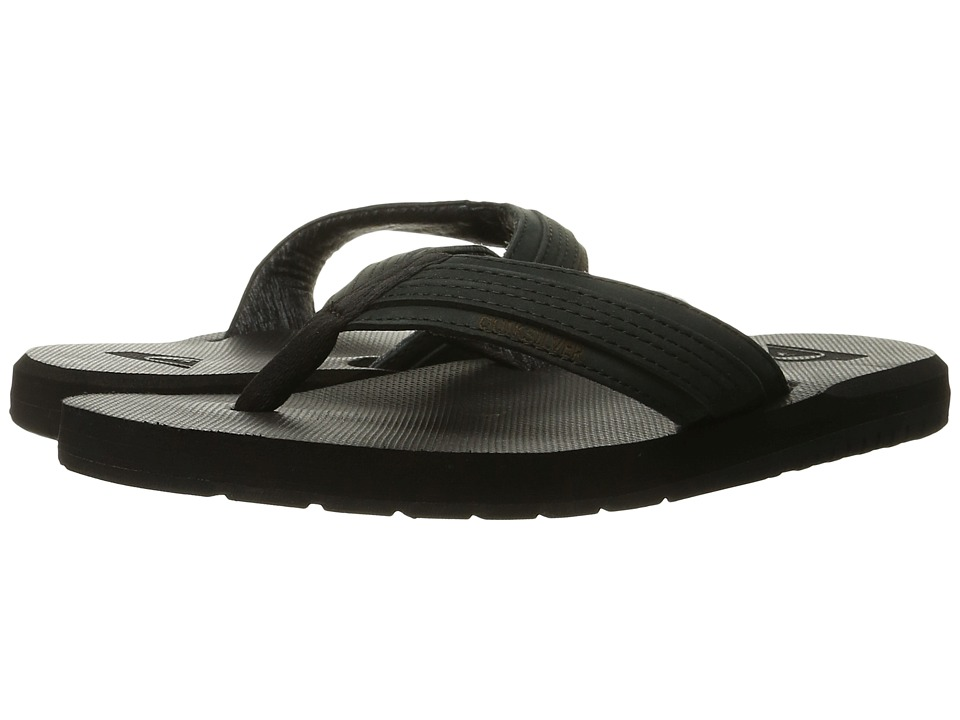 Quiksilver Coastal Oasis (Solid Black) Men
