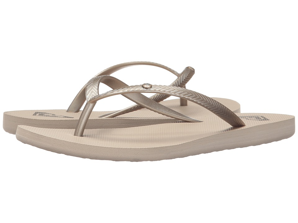 Roxy Bermuda (Gold Cream) Sandals