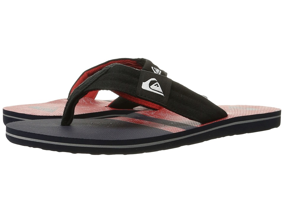 Quiksilver - Molokai Layback (Blue/Red/Black) Men