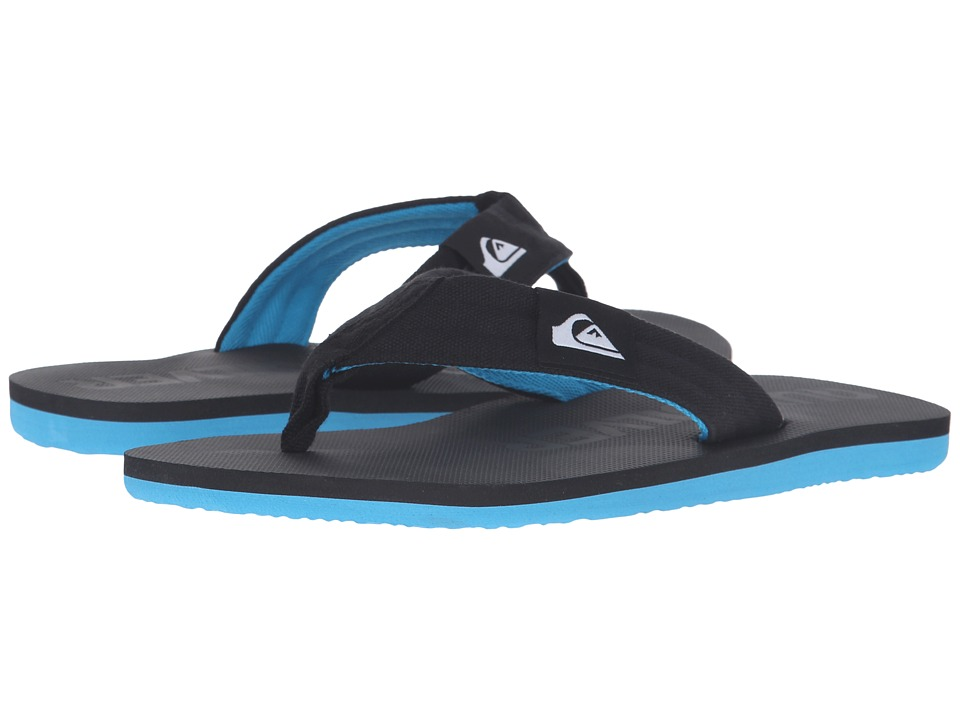 Quiksilver - Molokai Layback (Black/Black/Blue 2) Men