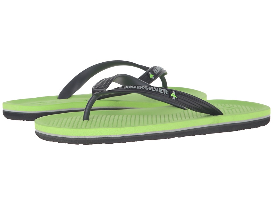 Quiksilver - Haleiwa (Grey/Grey/Green) Men