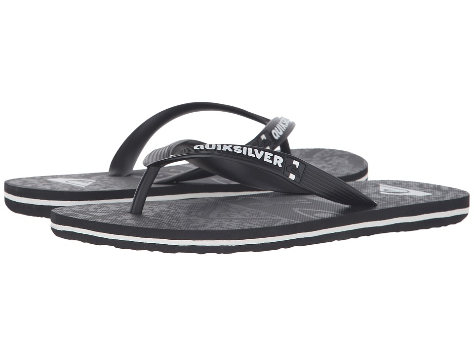 Quiksilver - Molokai Ghetto (Black/Black/Grey) Men