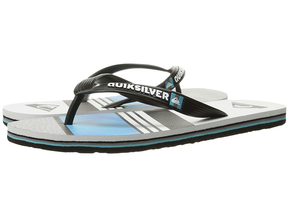 Quiksilver - Molokai Slash Remix (Black/Blue/White) Men