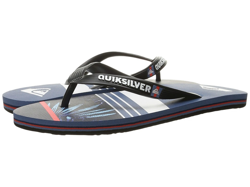 Quiksilver - Molokai Slash Remix (Black/Blue/Grey) Men