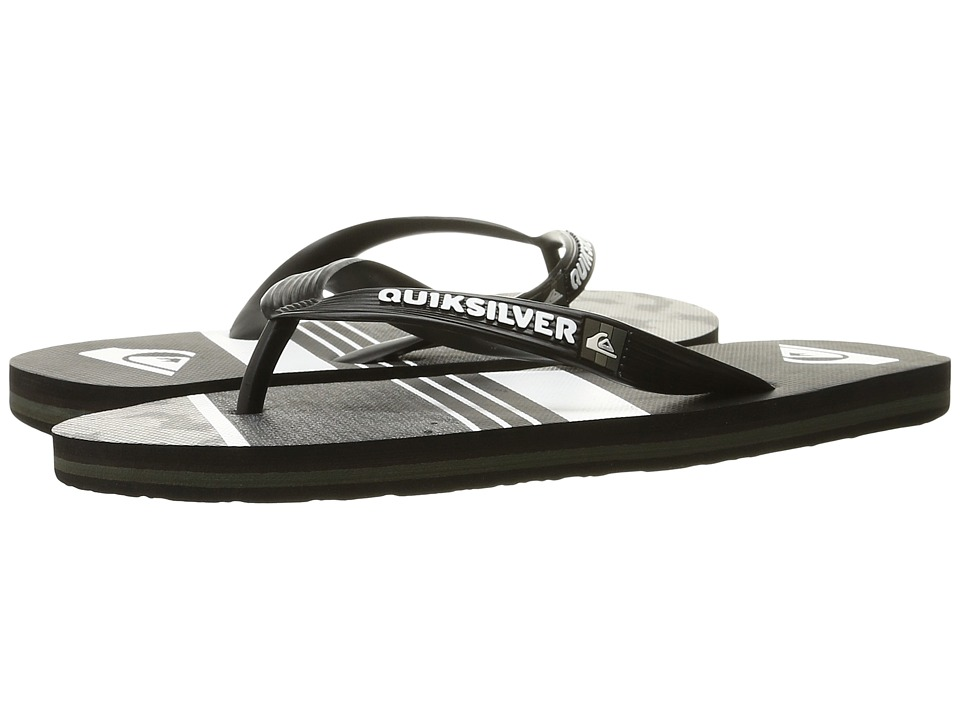 Quiksilver - Molokai Slash Remix (Black/Green/Grey) Men