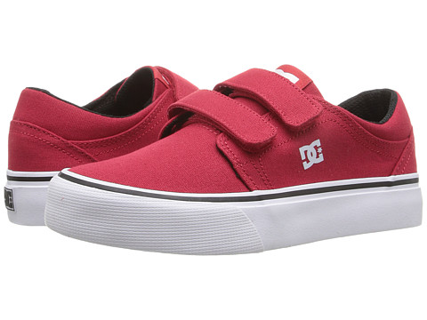 DC Kids Trase V (Little Kid) - Red/White/Black