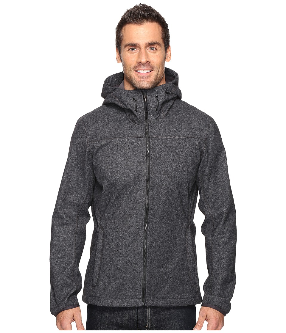 adidas Outdoor Luminaire Softshell Hoodie (Black) Men