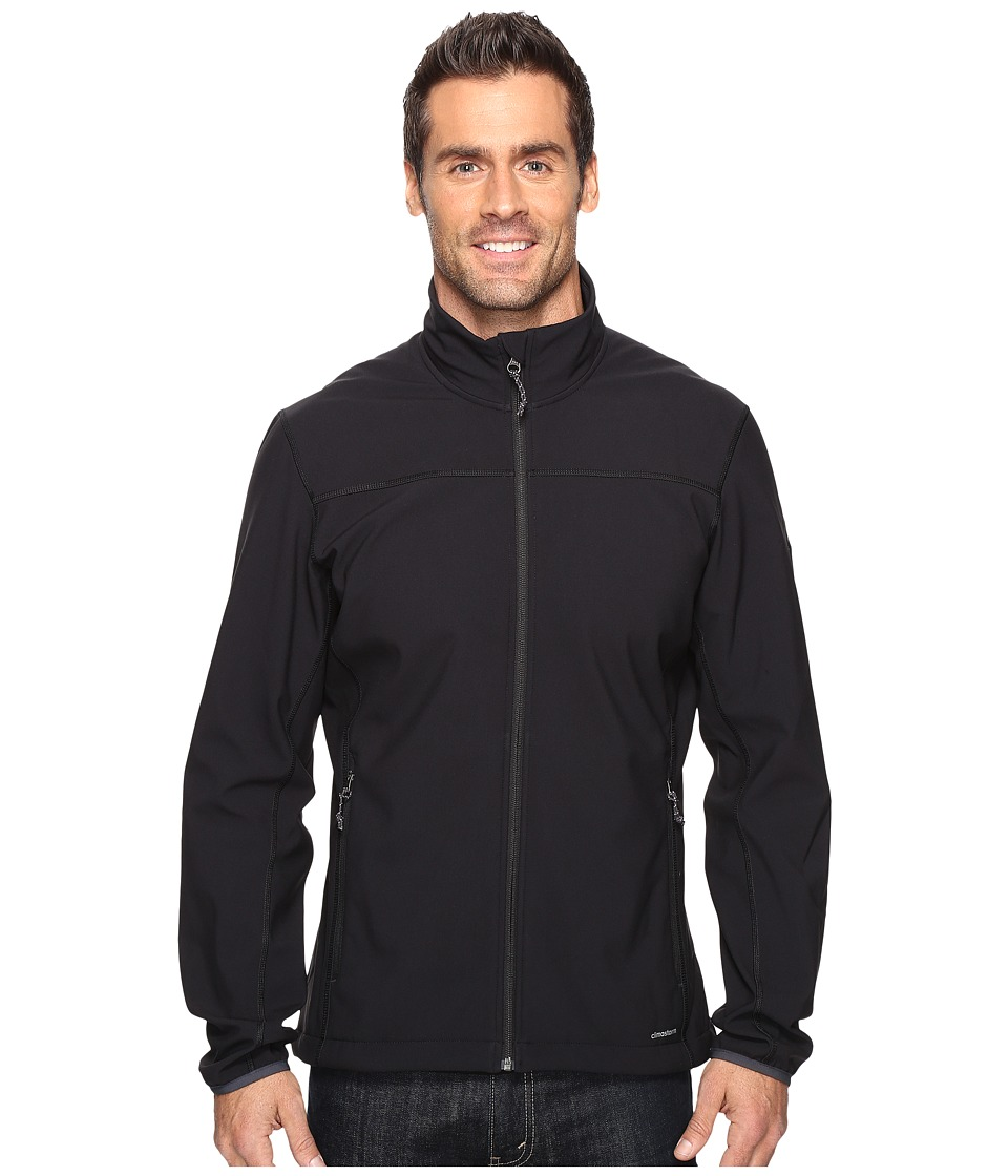 adidas Outdoor Softcase Softshell Jacket (Black) Men