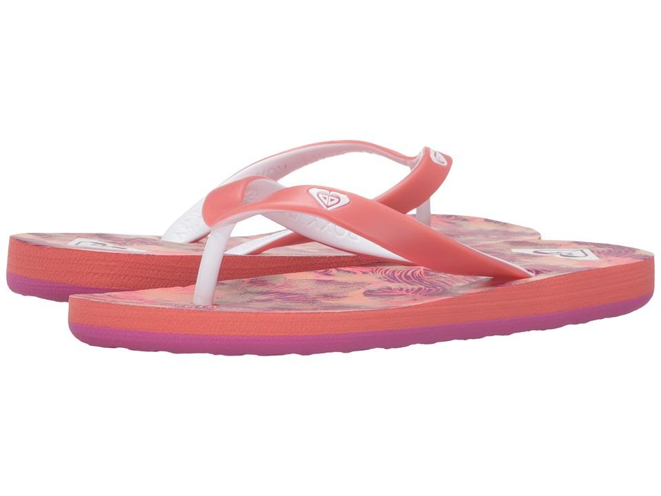 Roxy Kids - Tahiti V (Little Kid/Big Kid) (Pink/Cabernet) Girls Shoes