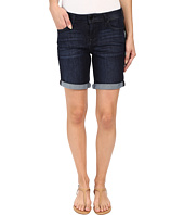 Liverpool - Corine Rolled Denim Shorts in Vintage Super Dark