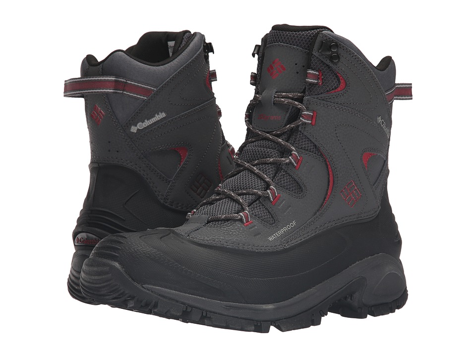 Columbia Bugaboot II (Shark/Red Dahlia) Men