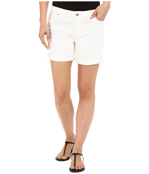 Liverpool Vickie Lightweight Denim Shorts in Bright White at 6pm.com