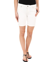 Liverpool - Corine Lightweight Denim Shorts in Bright White