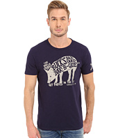 Lucky Brand - BBQ Pig Graphic Tee