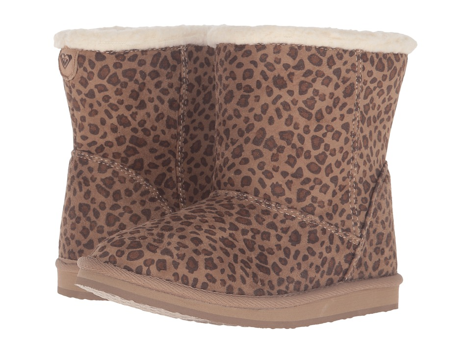 Roxy Kids Molly (Little Kid/Big Kid) (Cheetah Print) Girls Shoes