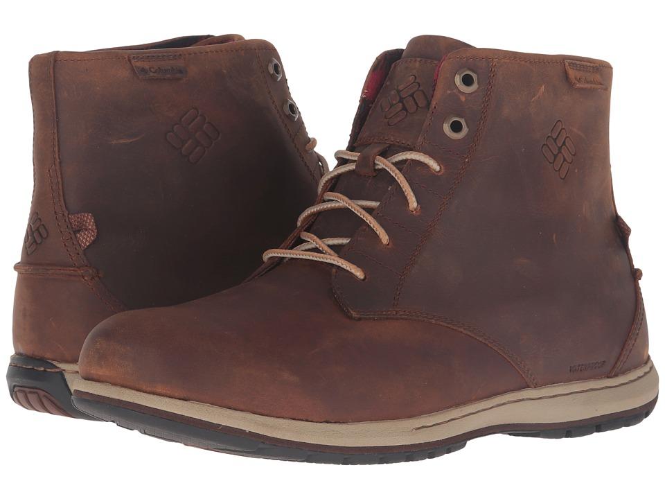 Columbia - Davenport Six Waterproof Leather (Elk/Buro) Men