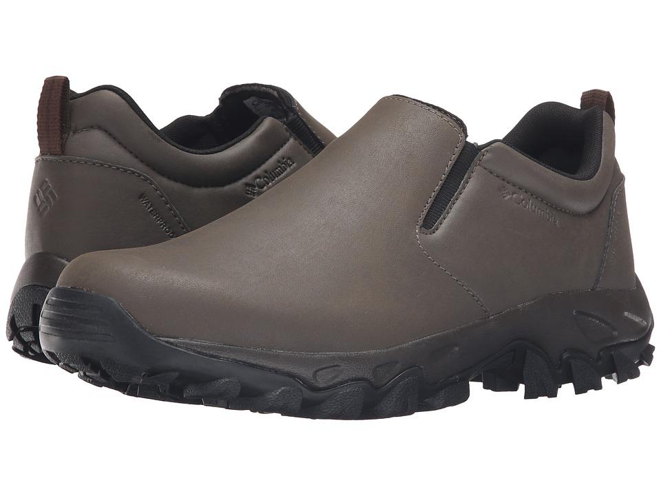 Columbia Newton Ridge Plus Moc Waterproof (Mud/Red Dahlia) Men
