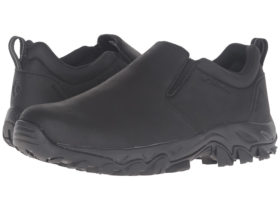 Columbia Newton Ridge Plus Moc Waterproof (Black/Charcoal) Men