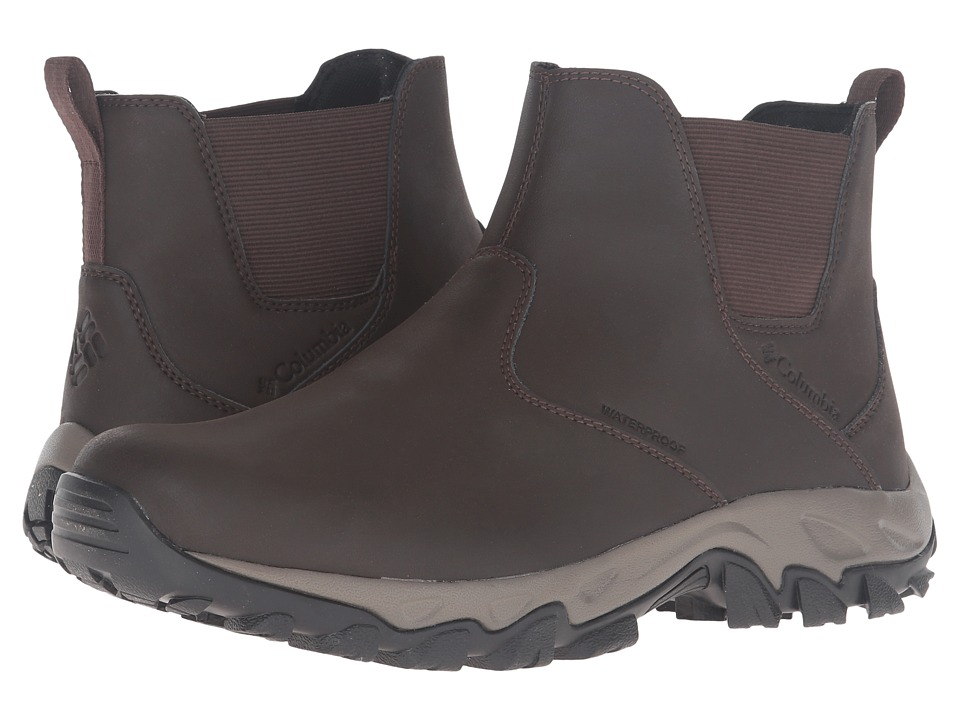 Columbia Newton Ridge Plus Slip Waterproof (Cordovan/Squash) Men