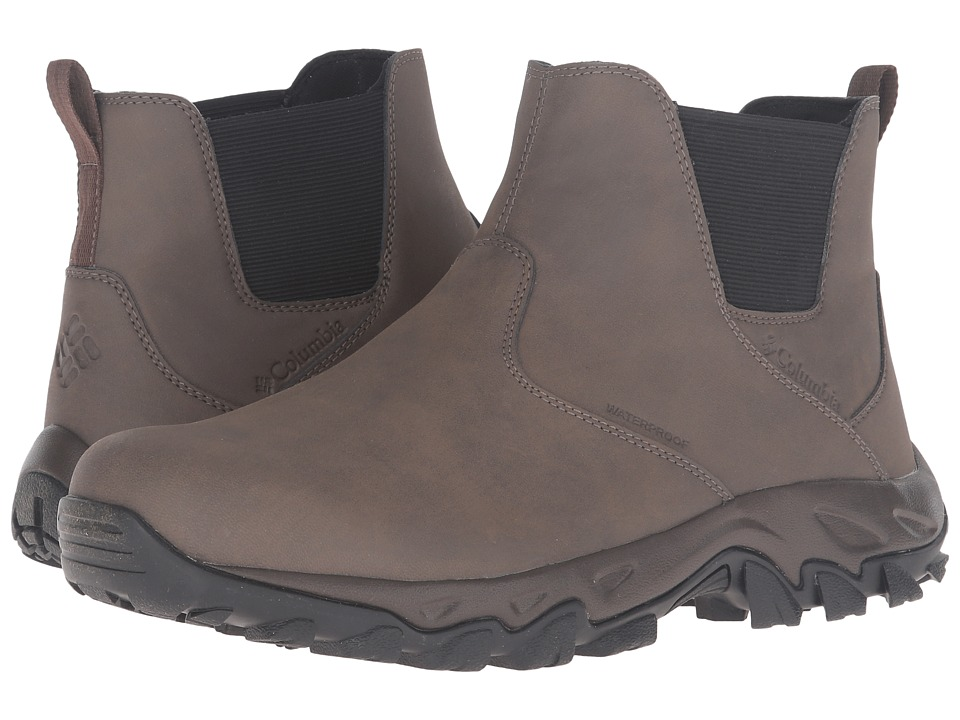 Columbia Newton Ridge Plus Slip Waterproof (Mud/Bright Copper) Men