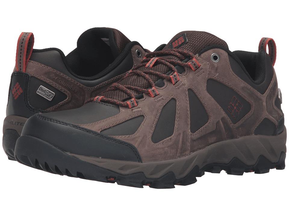 Columbia Peakfreak XCRSN II Low Leather Outdry(r) (Cordovan/Sanguine) Men