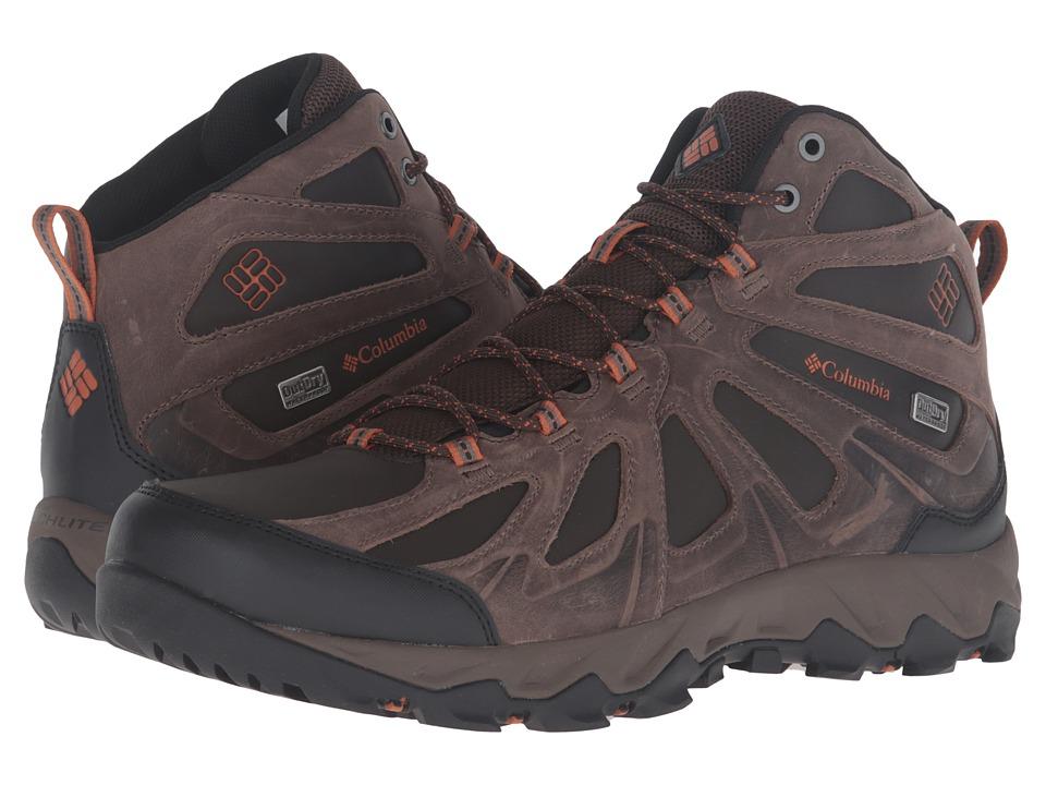 Columbia Peakfreak XCRSN II Mid Leather Outdry(r) (Cordovan/Bright Copper) Men