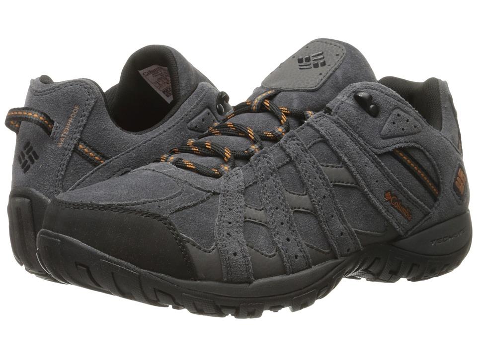 Columbia Redmond Leather Omni-Tech (Dark Grey/Bright Copper) Men
