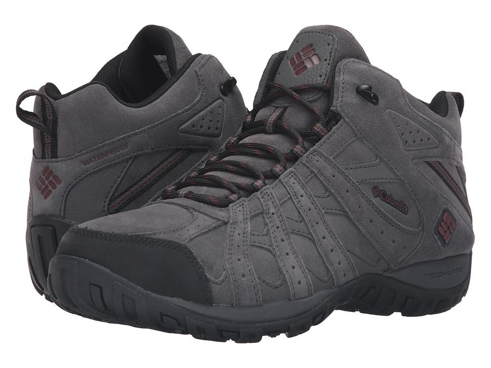 Redmond Mid Leather Omni-Tech (Dark Grey/Madder Brown)