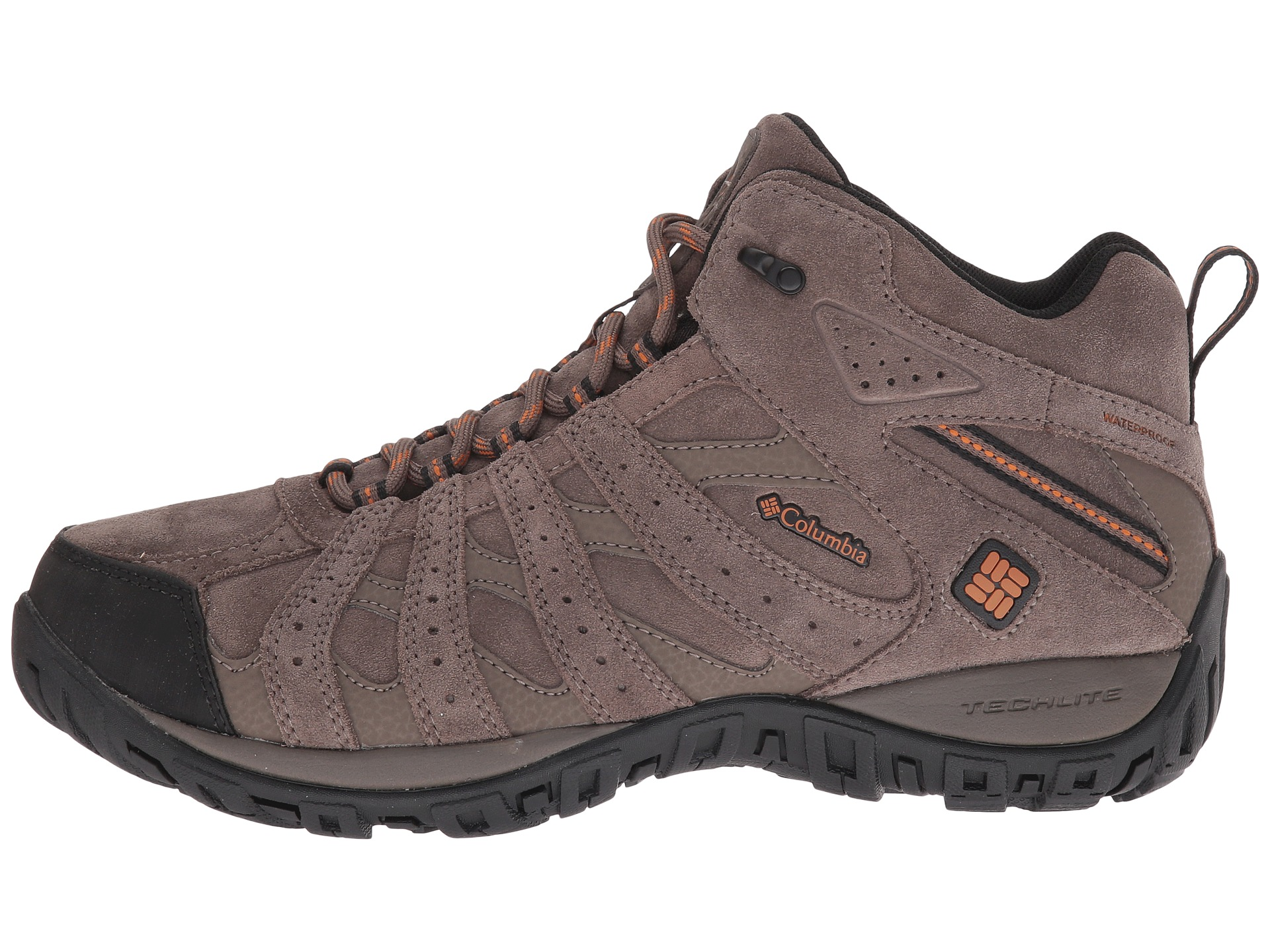 Columbia Redmond Explore Boys Waterproof Hiking Shoes Size