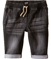 Hudson Kids - Knit Denim Shorts in Graphite (Toddler/Little Kids/Big Kids)